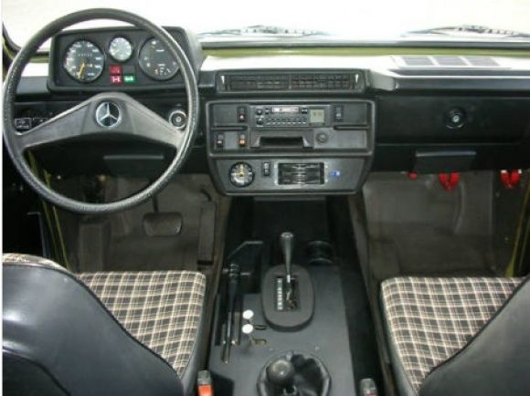 Drab And Plaid 1980 Mercedes Benz 280ge 4x4 Mercedes G