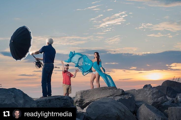 """Behind the scenes by @readylightmedia :  Here's a #behindthescenes look at the last image in my profile. If you haven't already seen that be sure to check it out! As you can see I lit this image with a @paulcbuffinc #digibee 800 and a 51"""" PLM with black outer covering and white front diffusion I was able to power my strobe on location with the #vagabondmini power pack. My camera was a @nikonusa #d800e with a 60mm f2.8 macro lens. To deal with the quickly setting sun I was dragging my shutter…"""
