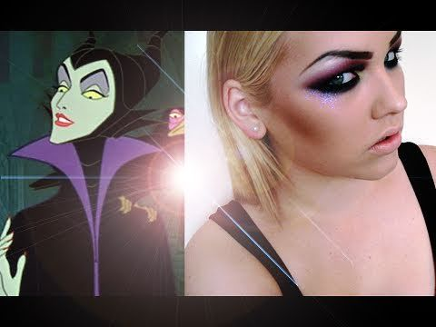 Halloween Tutorial: Maleficent / Disney Evil Characters Inspired.