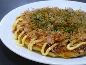 週末のお楽しみ☆大和芋のお好み焼き