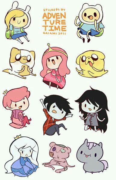 Adventure Time chibis