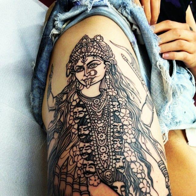 17 best ideas about kali tattoo on pinterest kali goddess kali ma and krishna tattoo. Black Bedroom Furniture Sets. Home Design Ideas