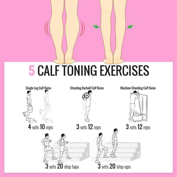 How to get Slim Calves? Try these Calf Exercises! ????????Fitness???