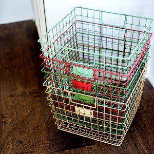 Fresh Wire Gym Locker Baskets