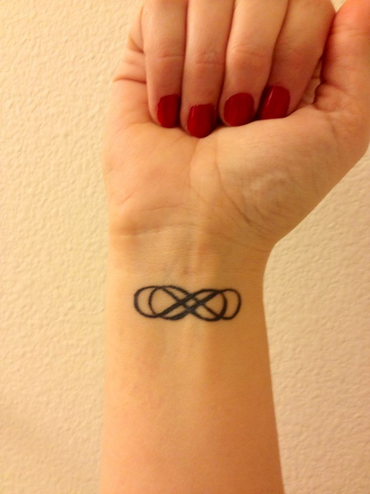 My Double Infinity tattoo  love it!