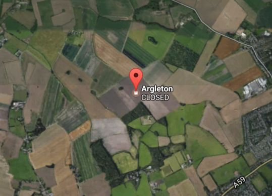 The town of Argleton has a postal code and appears on maps and even real estate listings, yet it does not exist.