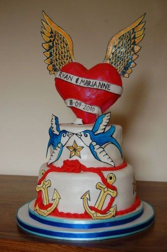Best Rockabilly Cakes Images On Pinterest Rockabilly Wedding - Rockabilly birthday cake