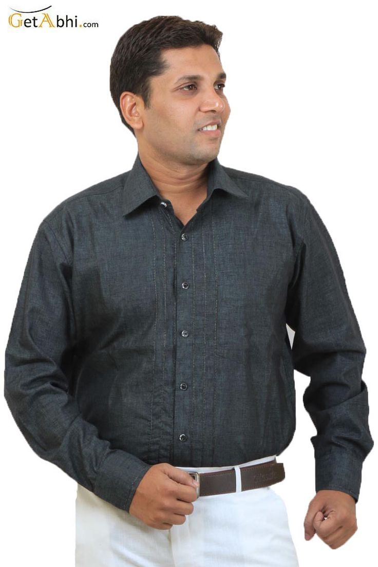 Ruffle your stuff as you wear this casual shirt, in Dark Green Casual Silk Shirt, from the house of Siera, this slim-fit shirt ascertains Airy comfort all day long too. Featuring slim fit, this club wear shirt is an ideal pick!