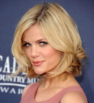 Photos: See the Most Flattering Haircut on Everyone: The Long Bob With a Bit of Curl to It