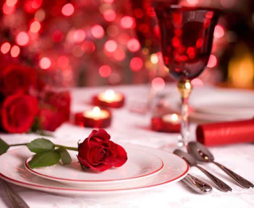 dîner d'amoureux St Valentin