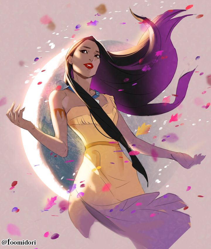 Pocahontas by foomidori.deviantart.com on @DeviantArt - More at https://pinterest.com/supergirlsart/ #disney #fanart