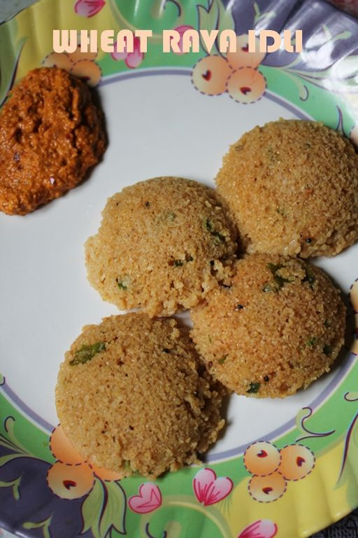 Instant Wheat Rava Idli Recipe / Gothumai Rava Idli Recipe