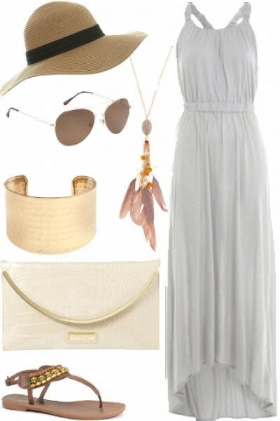 Perfect summer outfit. Love everything