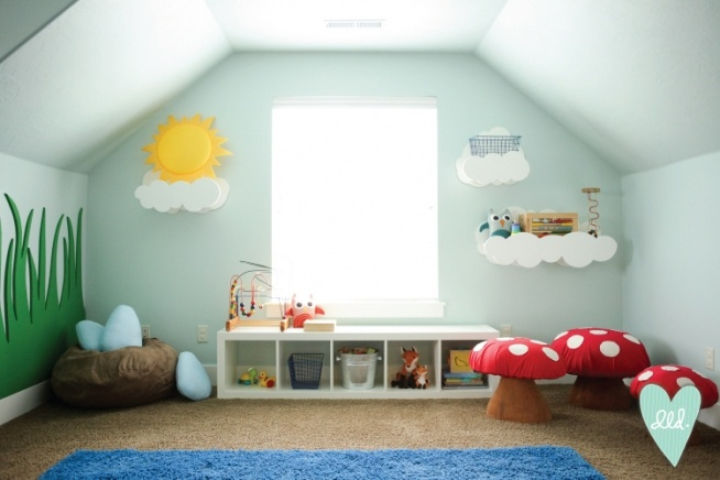 Woodland Playroom-- Design Loves Detail