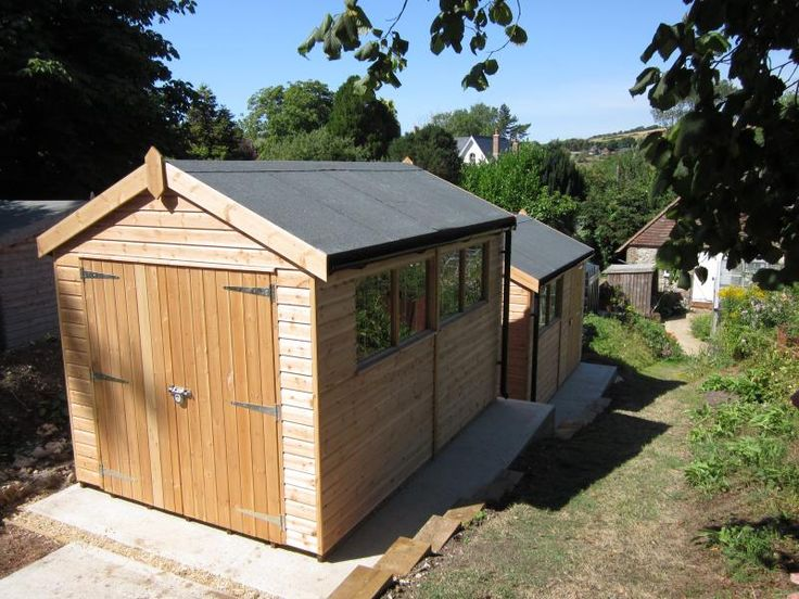view the image gallery of our installed garden sheds workshops summerhouses garden studios garden rooms and timber garages - Garden Sheds Workshops