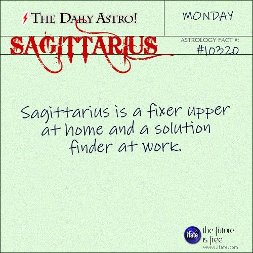 Sagittarius Daily Astro!: Check your Sagittarius horoscope now.  Visit iFate.com today!