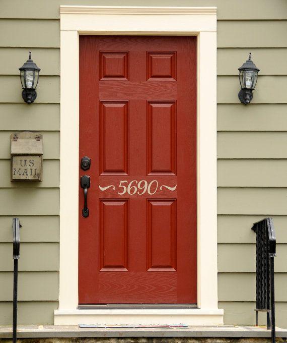 Best 25+ Front Door Numbers Ideas On Pinterest