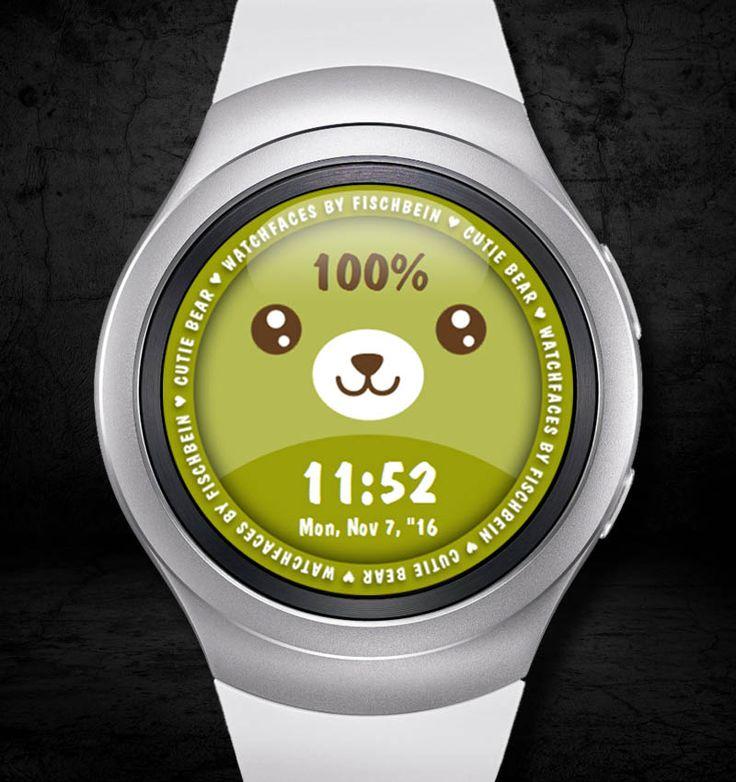 Cutie Bear 24h – Watchfaces by Fischbein