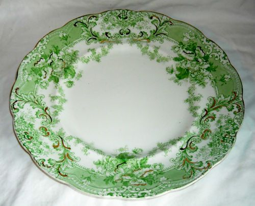 Vintage Johnson Brothers  The Florentine  Dinner Plate England Green ... & 47 best Johnson Brothers England. images on Pinterest | China ...