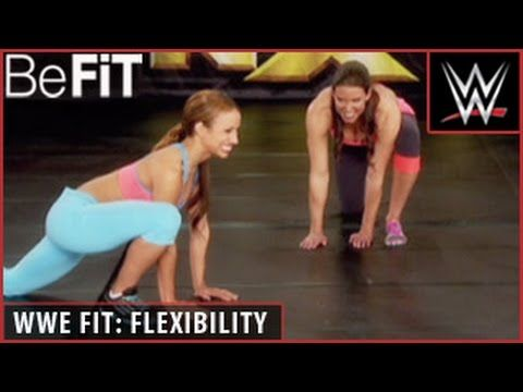 WWE Fit Series: Stretching & Flexibility Training- Stephanie McMahon - YouTube