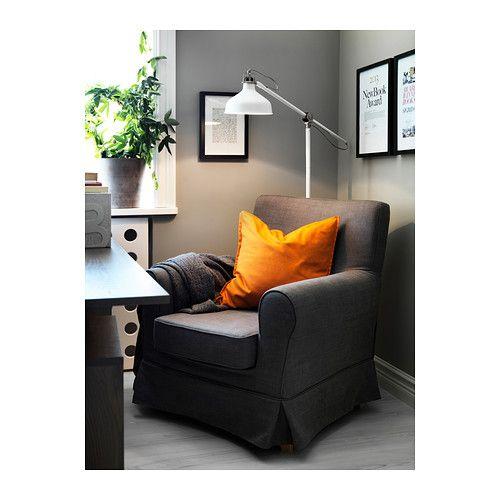 RANARP Lampă citit/lampadar IKEA Braţul şi capul reglabile permit direcţionarea cu uşurinţă a luminii. Lumină direcţionată, potrivită pentru...