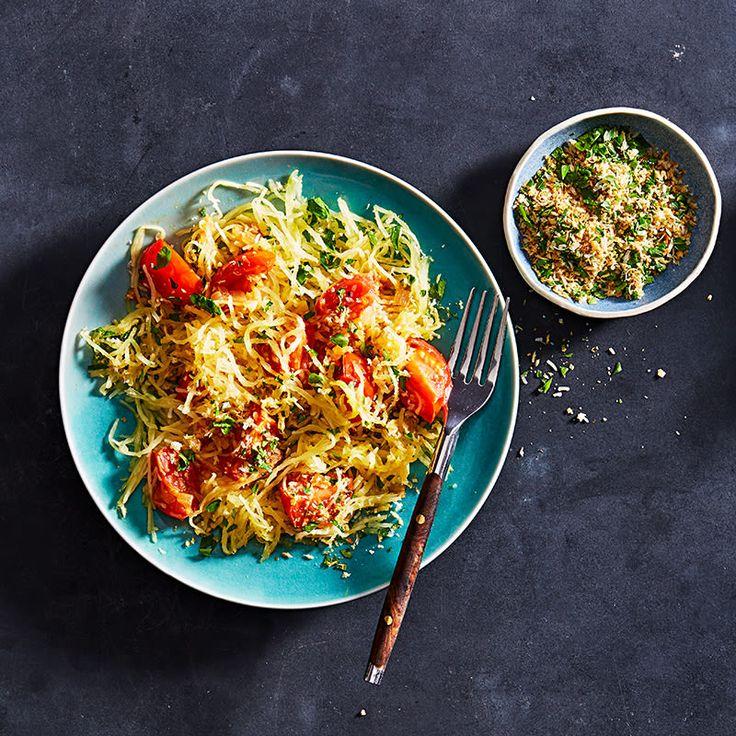 Spaghetti-Kürbis-Tomate