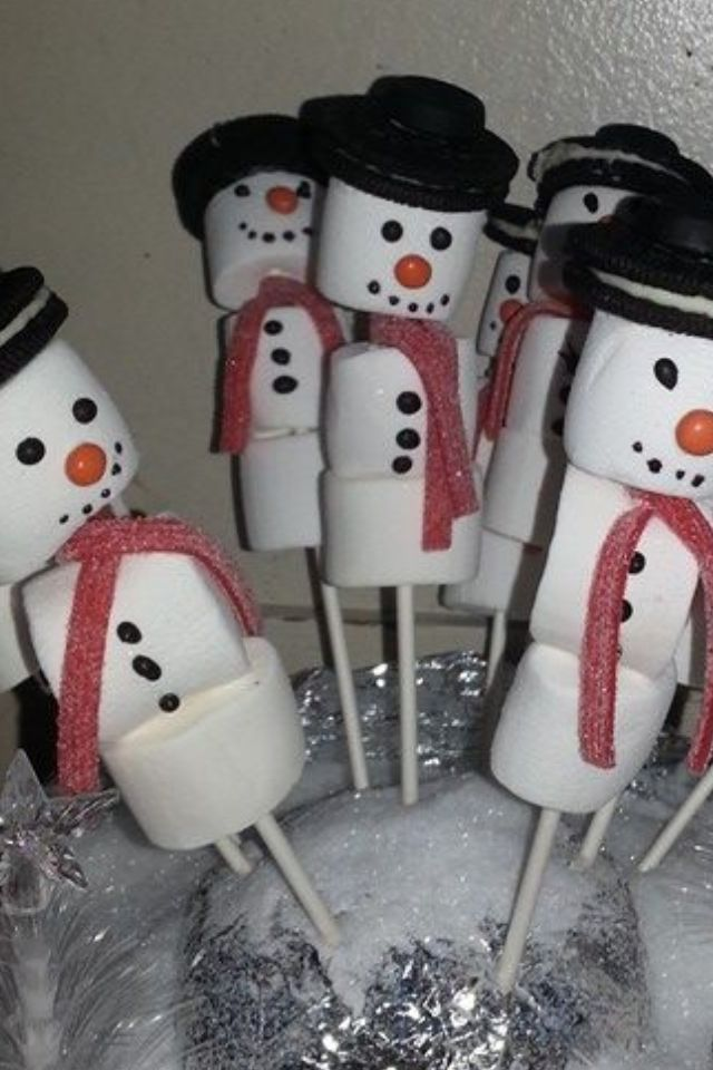 Marshmallow - sneeuwpop