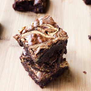 Peanut Butter Brownies - Jessica In The Kitchen