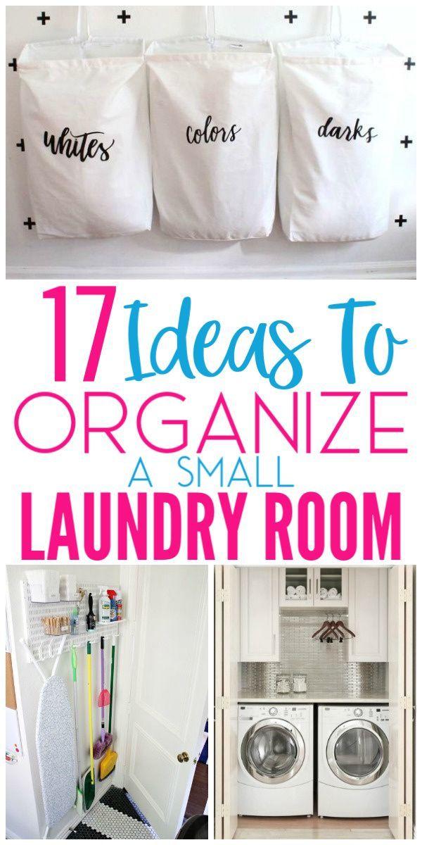 17 Small Laundry Room Organization Ideas Small Laundry Room