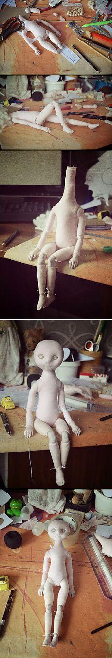 Идеи шарнирной куклы