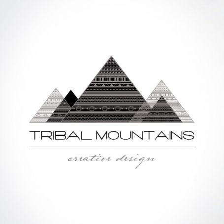 #Tribal Mountains #Logo - Personal - http://luvly.co/items/4116/Tribal-Mountains-Logo-Personal