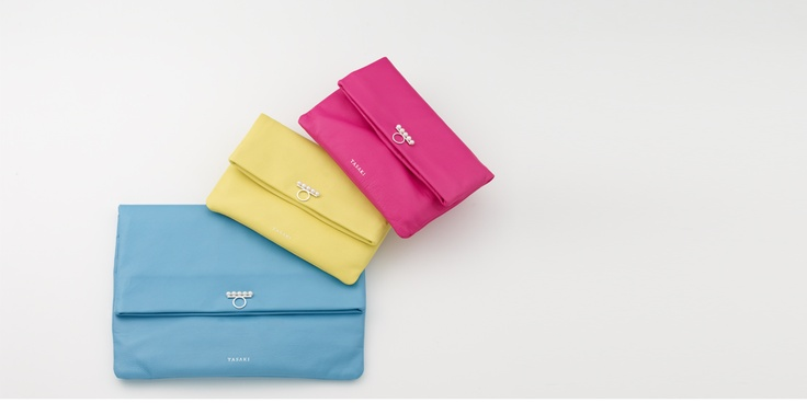 """TASAKI """"balance pouch"""" http://www.tasaki-global.com/collections/leather_collection/"""