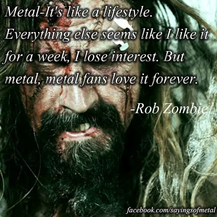 Pictures Rob Zombie Rob Zombie And Heavy Metal