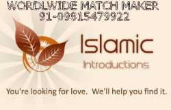 MARRIAGES ARE MADE IN HEAVEN BUT SEOLMNISE BY US. ANY CASTE ANY WHERE IN INDIA ANY RELIGION FOR BRIDE AND GROOM CONTACT NOW 09815479922         WEBSITE -http://worldwidematchmaker09815479922.webs.com/         (WORLD MOST SUCESSFUL MATCH MAKER CALL NOW 09815479922)       KINDLY NOTE WE HAVE A HIGH PROFILE NRI BRIDE AND GROOM STATUS FOR MARRIAGE.       YOU CAN ALSO CONTACT FOR DIVORCEE;WIDOWER;SECOND MARRIAGE LIVING SEPERTELY AND OVER AGE       WE SEARCH UR DESIRED MATCH ACCORDING ...