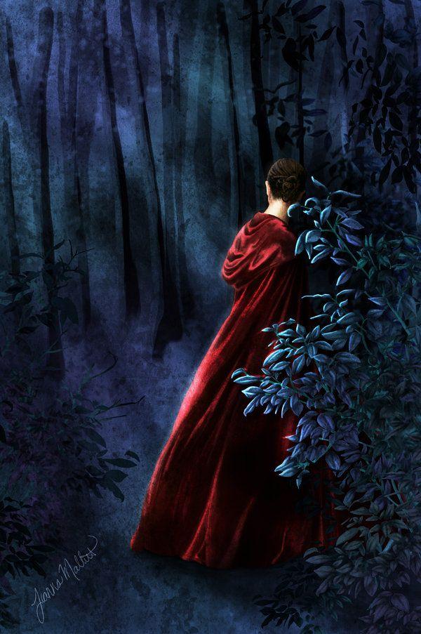 Cloak in the Woods by *Wooferduff
