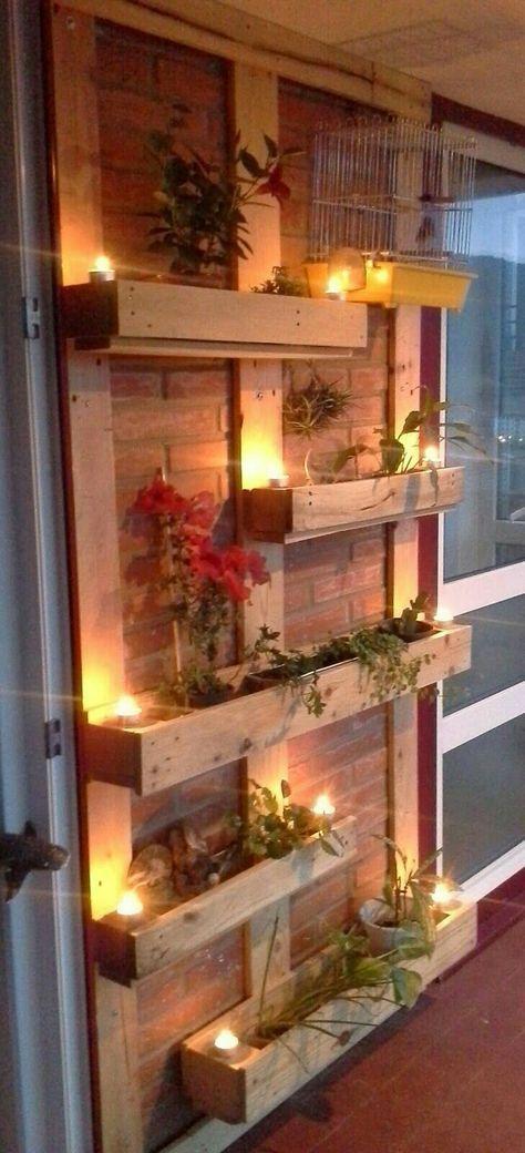 Idee voor kruiden/plantjes onder overkapping
