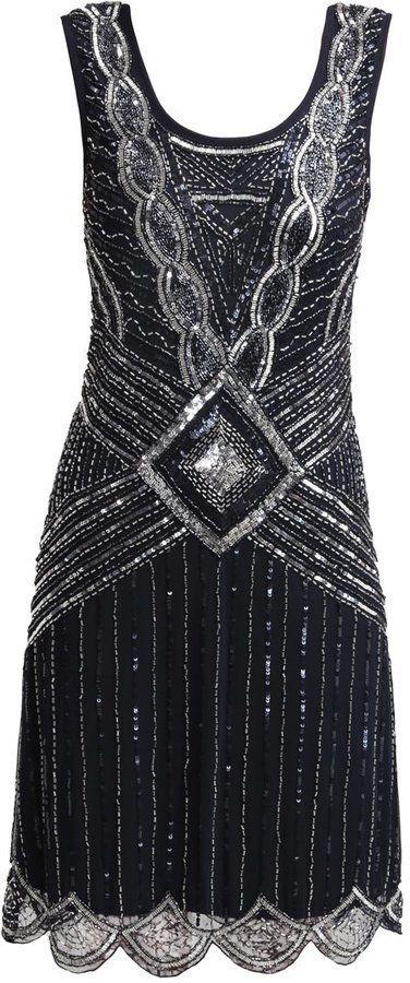 Pin for Later: Die 45 schönsten Kleider (& 5 coole Jumpsuits) für den besten Abiball aller Zeiten Athena Frock and Frill Flapperkleid im Stil der 20er Jahre (180 €)