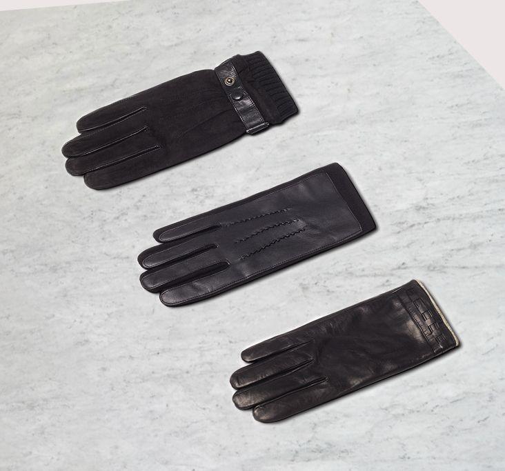 Style Details | Коллекция аксессуаров AW`16  Перчатки из натуральной кожи и текстиля - 649 / 1 799 ₽   #mfilive #NewArrivals #AW16