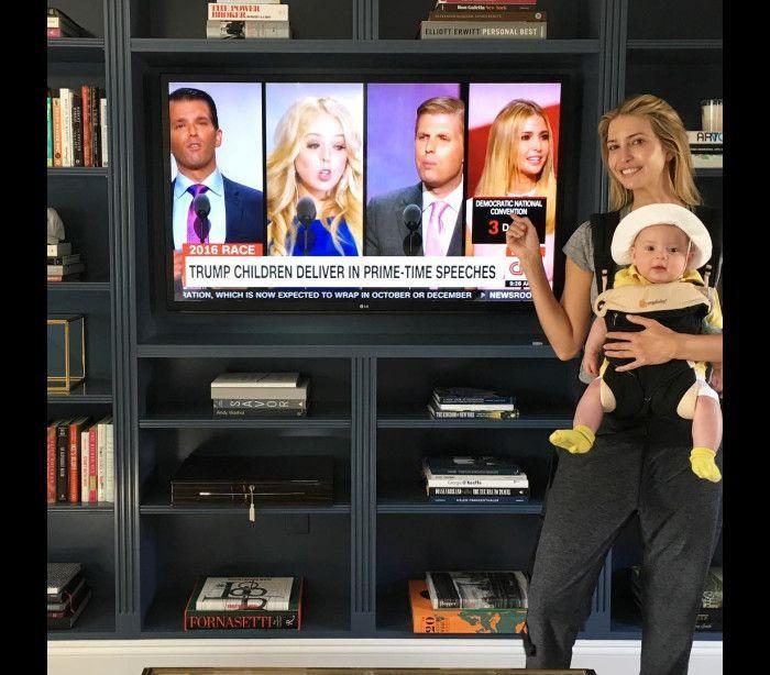 Ivanka Trump, uma mulher de família
