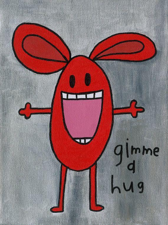 Gimme a Hug  By keptfresh