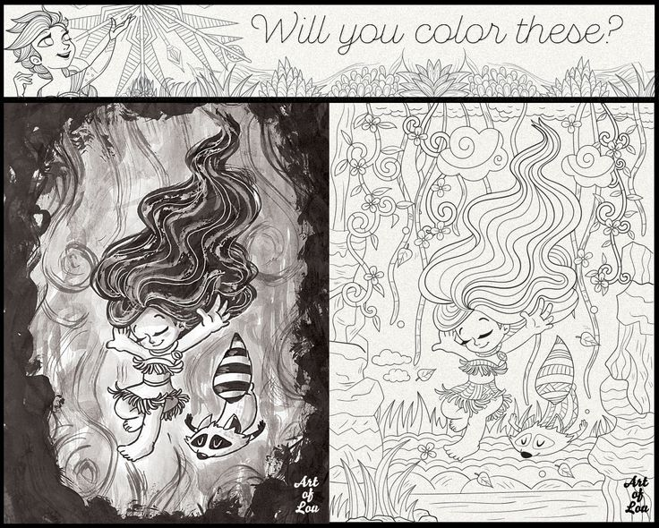 Will You Color These? Free coloring sample pages!  #coloring #adult #page #adultcoloringbook #book #color #free