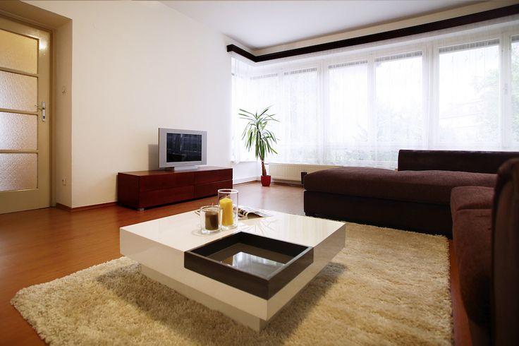 Obývací pokoj po využití služby Home Staging