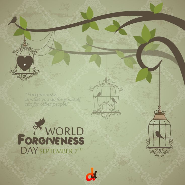 The 7th September is celebrated as World Forgiveness Day. This day is a day to forgive and be forgiven, Forgiveness Day is a chance to set things right.
