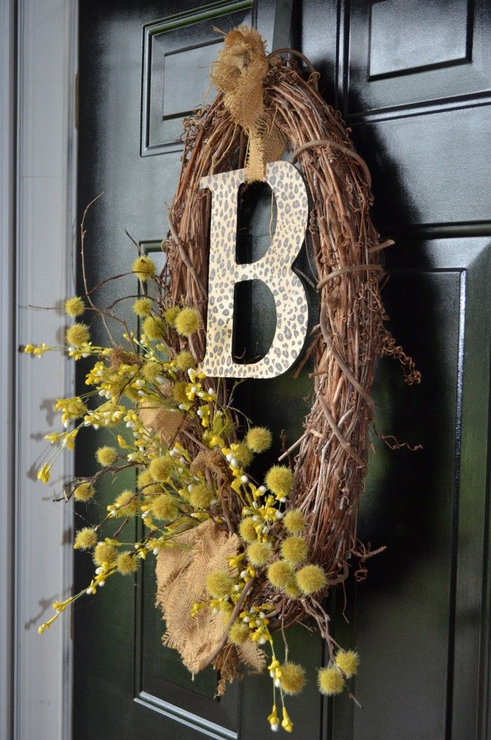 Front Door wreath and Summer Home tour.   nancy danley    I think this would have been better.