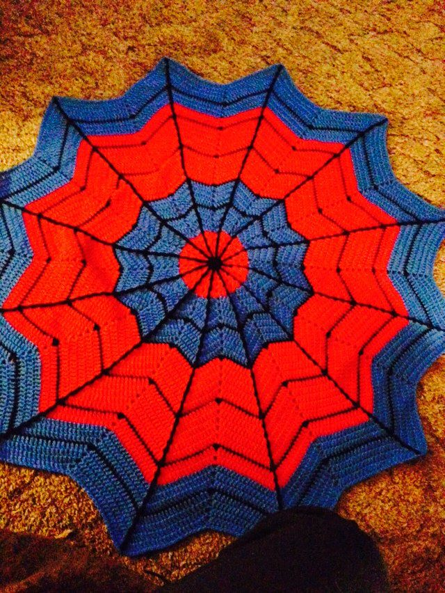 Spider man blanket for my nephew