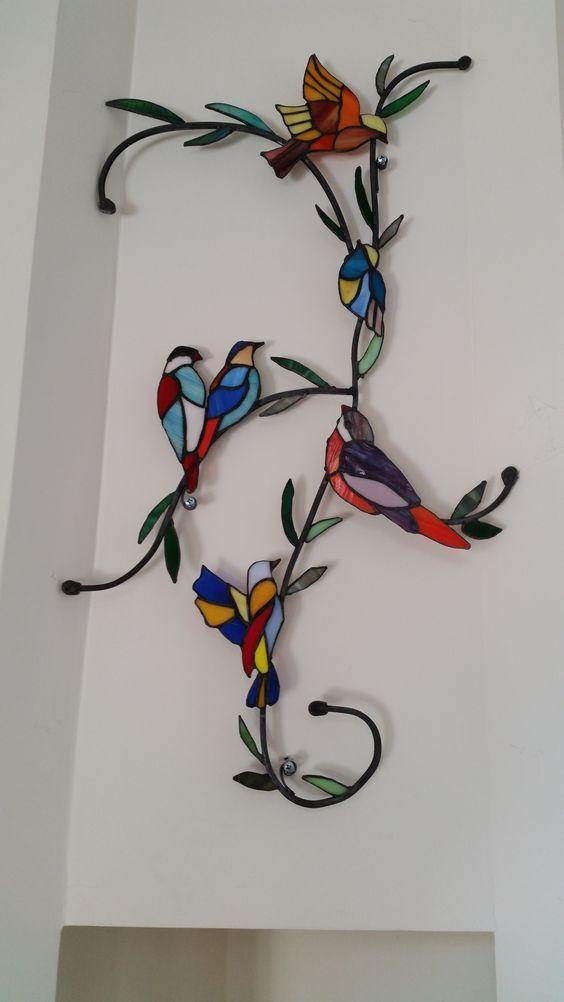 תוצאת תמונה עבור ideas para un espejo con vitral o stained glass