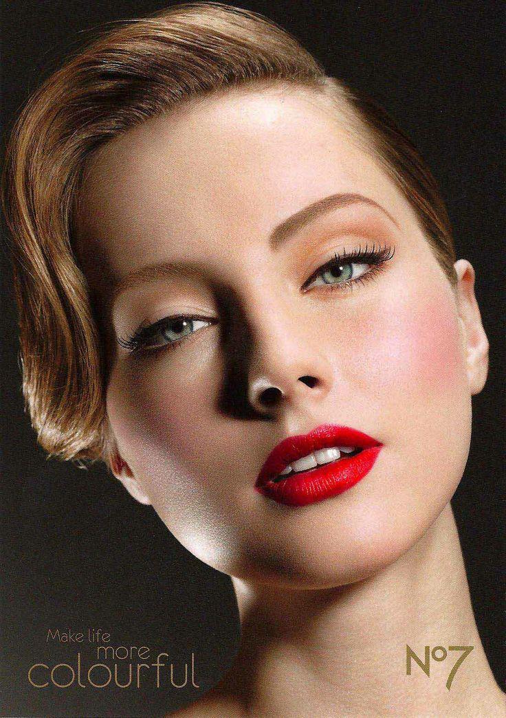 1940s makeup maquillaje d233cadas pinterest