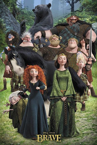 brave poster | Poster Brave Personajes | Carteles de Cine y Posters