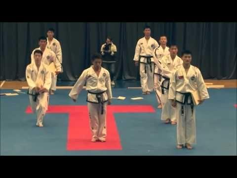 North Korea Taekwon do ITF (Taekwondo techniques)