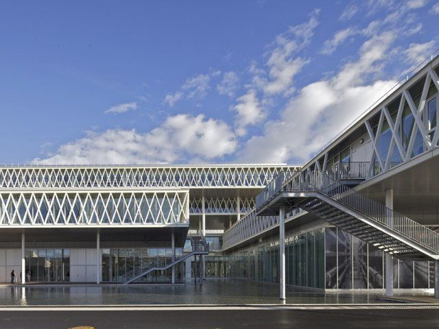 National Archives of France by Fuksas - News - Frameweb